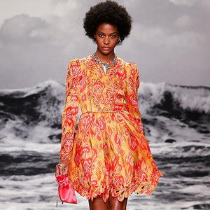 Fire Runway 2020 Dress