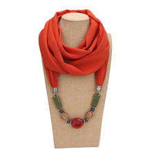 Load image into Gallery viewer, Solid Color Jewellery Loop Hijab