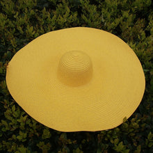 Load image into Gallery viewer, 25CM Wide Brim Oversized Beach Hats Foldable Sun Shade