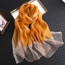 Load image into Gallery viewer, Luxurious Lustre Silk Hijab Shawl