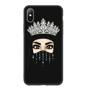 Hijabi Queen Crown Phone Case For Various Models