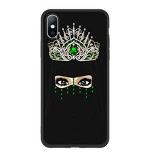 Load image into Gallery viewer, Hijabi Queen Crown Phone Case For Various Models