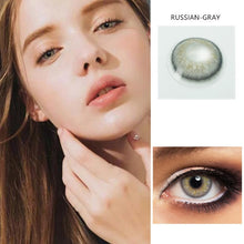 Load image into Gallery viewer, 2pcs /1 Pair European Series Colored Contact Lenses for Dark Eyes