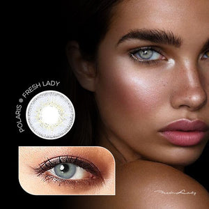 2pc/1 Pair Dream Series Colored Contact Lenses for Dark Eyes