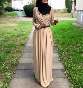 Alida Simplicity Wrap Drape Modest Dress