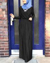 Load image into Gallery viewer, Alida Simplicity Wrap Drape Modest Dress