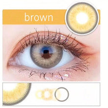 Load image into Gallery viewer, Ring Colored Contact Lens Color Contact Lenses for Dark Eyes