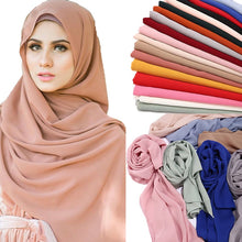 Load image into Gallery viewer, 10 pc/lot Crinkle bubble chiffon Shawl
