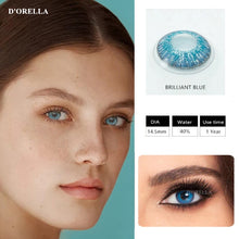 Load image into Gallery viewer, 3 Tone Brilliant Colored Contact Lenses  for Dark Eyes