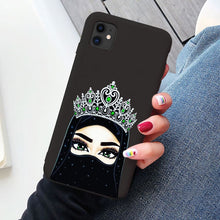Load image into Gallery viewer, Crown Hijabi Phone Case for Various Models