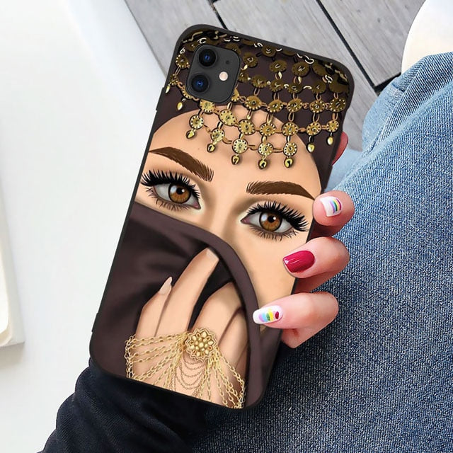 Crown Hijabi Phone Case for Various Models