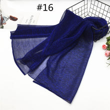 Load image into Gallery viewer, Lurex Textured Hijab Shawl