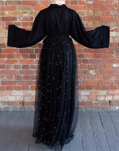 Load image into Gallery viewer, Fesiona Tulle Abaya Cardigan