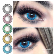 Load image into Gallery viewer, 2Pcs/1Pair Big Plum Series Color Contact Lens for Dark Eyes