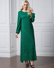 Load image into Gallery viewer, Drema Fully Lace Modest Dress Plus Size Available
