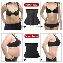 Load image into Gallery viewer, Waist Trainer Shapewear 9 &13 Steel Bones