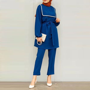 Chanel Inspired Modest Pantsuit