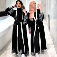 Load image into Gallery viewer, Dubai Embroidered Abaya Kimono