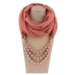 Pearly Jewellery Hijab Scarves
