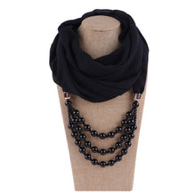 Load image into Gallery viewer, Pearly Jewellery Hijab Scarves