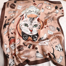 Load image into Gallery viewer, Cat Life Hijab Scarves