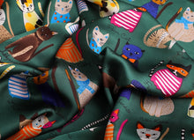 Load image into Gallery viewer, Life of Cats Hijab Scarves