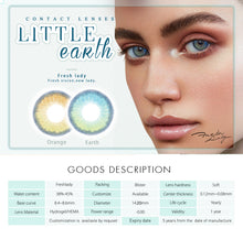 Load image into Gallery viewer, Little Earth Series Contact Lenses Color Colored Contact Lenses for Dark Eye
