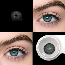 Load image into Gallery viewer, 2pcs/pair NGray New York Series Small Pupil Colored Contact Lenses for Dark Eyes Prescription