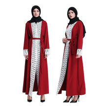 Load image into Gallery viewer, Jida Lace Simplicity Abaya