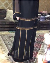 Load image into Gallery viewer, Syafiqah Saudi Rhinestones Abaya