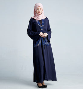 Maribu Pockets Modest Abaya Dress
