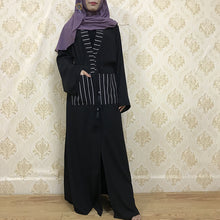 Load image into Gallery viewer, Maribu Pockets Modest Abaya Dress
