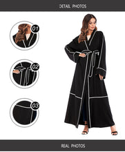 Load image into Gallery viewer, Cherrie Chanel Inspired Modern Abaya