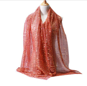 10 pcs/lot High quality lurex glitter shimmer shawl