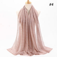 Load image into Gallery viewer, Pearl Lurex Shawl Hijab