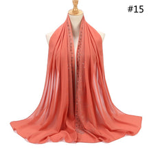 Load image into Gallery viewer, 10 pcs/lot Rhinestone Bubble Chiffon Shawl