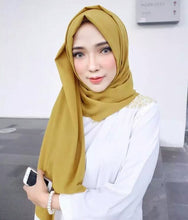 Load image into Gallery viewer, 50 pc/lot All Colors High Quality Bubble Chiffon Wide Shawl 85x180cm