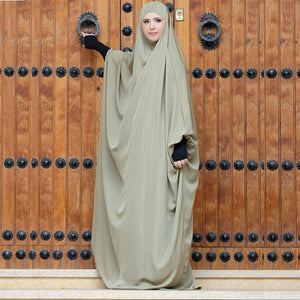 Muslimah Easy Wear Prayer Gown