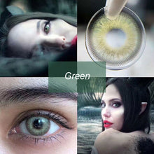 Load image into Gallery viewer, 2 pcs/1 Pair Korean Calk Serendipity Series Color Contact Lenses For Dark Eyes
