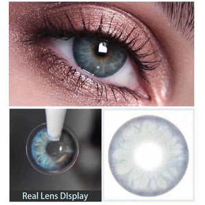 2pc/1pair GEMSTONE Colored Contact Lenses for Dark eyes