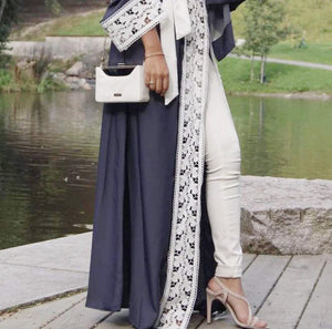 The Dutchess Lace Abaya Cardigan