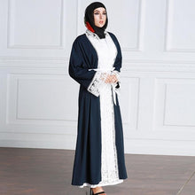 Load image into Gallery viewer, The Dutchess Lace Abaya Cardigan