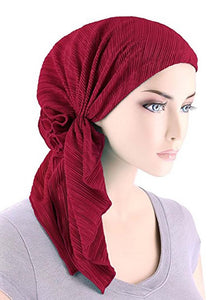 Solid Colors Instant Turban Hijab