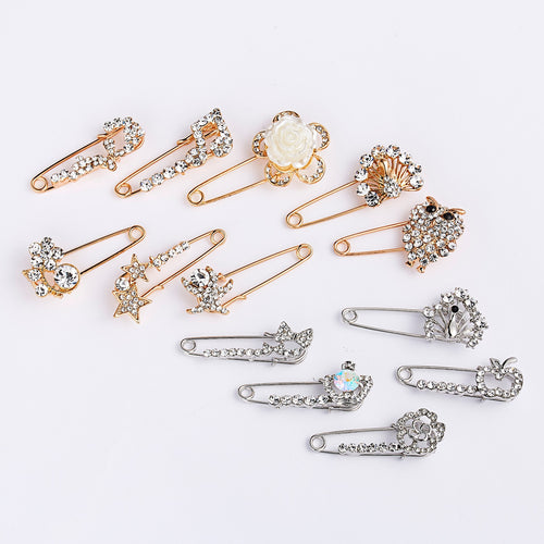 Oversized Vintage brooch pins Accessories