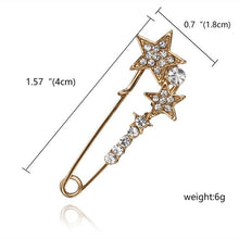Load image into Gallery viewer, Oversized Vintage brooch pins Accessories