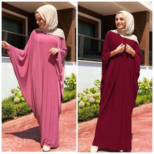 Load image into Gallery viewer, Shyana Batwing Modest Kaftan