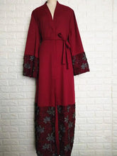 Load image into Gallery viewer, Cheentha Embroidery Cardigan Abaya