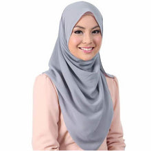 Load image into Gallery viewer, 145*145Cm Plain Oversized Square Bubble Chiffon Hijab