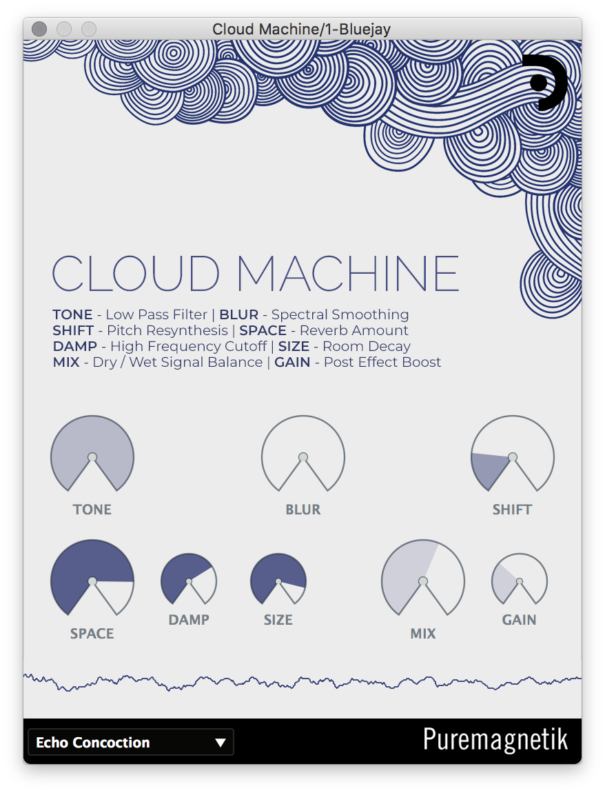 Cloud Machine | Spectral Blur and Space Creator