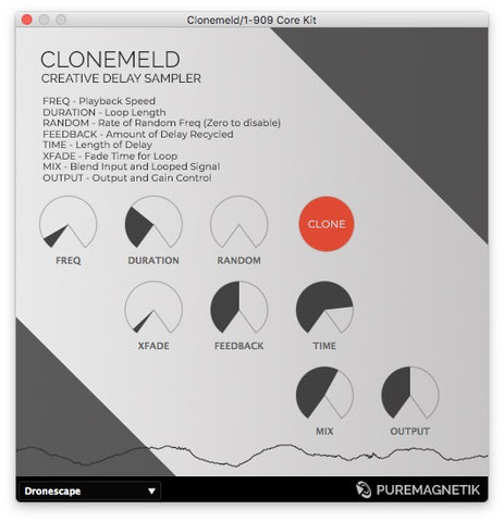 Clonemeld Creative Delay Sampler Plugin